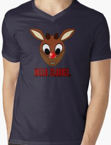 Red Nosed Cannibal  Mens V-Neck T-Shirt