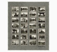 France 2007 Vintage Contact Sheet Kids Clothes