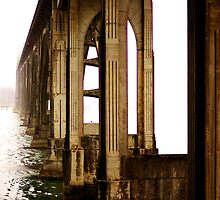 Coos Bay Bridge by Sheri Bawtinheimer