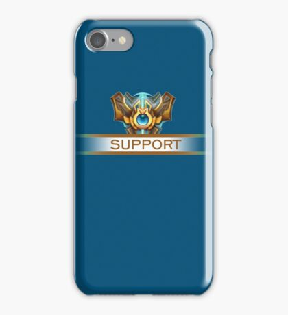 Support Badge iPhone Case/Skin