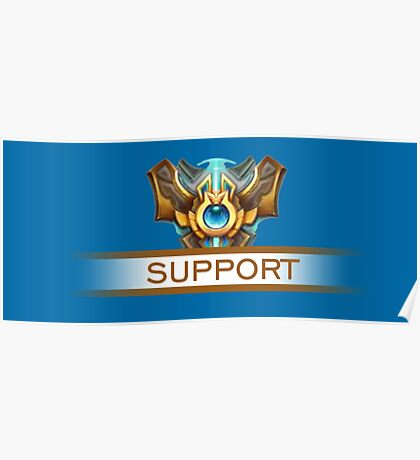Support Badge Poster