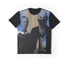 American Gothic Gangster Graphic T-Shirt