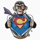 Not Just a Chimp (Also a mild mannered reporter) by Steven  Austin