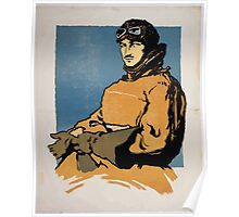 War paintings drawings by British artists Carnegie Institute March 7 April 3 2 Poster