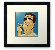 Hank Hill Framed Print