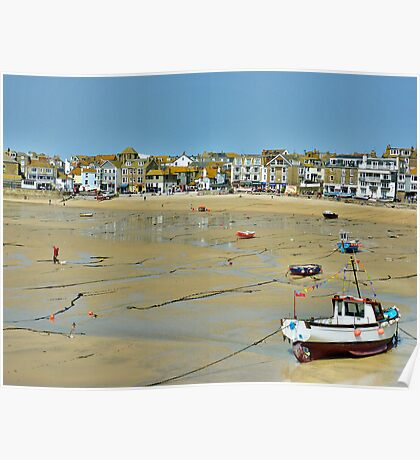 St Ives-Cornwall Poster