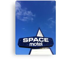 space motel  Canvas Print
