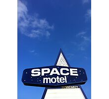 space motel  Photographic Print