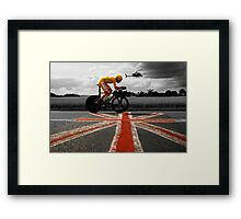 Bradley Wiggins, Tour de France Champion 2012 Framed Print