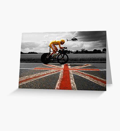 Bradley Wiggins, Tour de France Champion 2012 Greeting Card