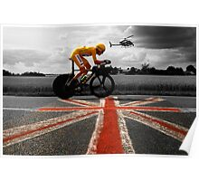 Bradley Wiggins, Tour de France Champion 2012 Poster