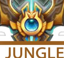 Jungle Badge Sticker