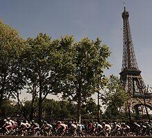 Paris, Tour de France by Eamon Fitzpatrick