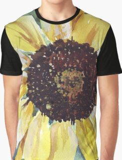 Helianthus annus (Sunflower) Graphic T-Shirt
