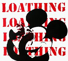Mickey Mouse Self Loathing by Yaz Alcantara