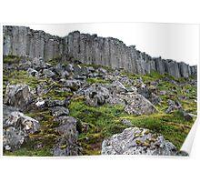 gerduberg basalt columns 2 Poster