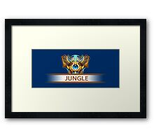 Jungle Badge Framed Print