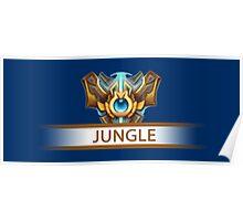 Jungle Badge Poster