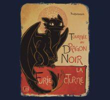 Le Dragon Noir One Piece - Short Sleeve
