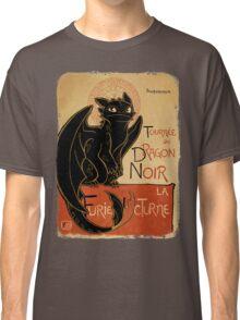 Le Dragon Noir Classic T-Shirt