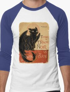 Le Dragon Noir Men's Baseball ¾ T-Shirt