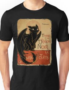 Le Dragon Noir Unisex T-Shirt