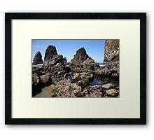 Haystack Habitat Framed Print