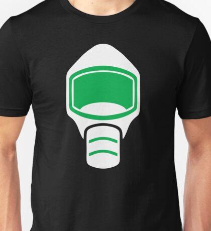 Emergency Escape Mask (or Smoke Hood, or Gas Mask) Sign Unisex T-Shirt