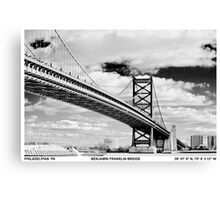 So Philly. So you. Canvas Print