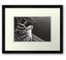 Trout Lake Framed Print