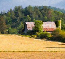 Fallowed Fields by Laura  Knight