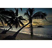 Sunset at Kinarut, Sabah Photographic Print