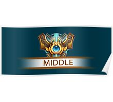 Middle badge Poster