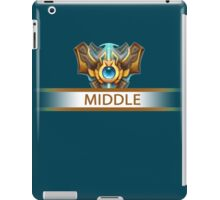 Middle badge iPad Case/Skin