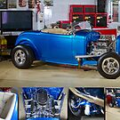 John's 1932 Ford Roadster Hot Rod - Poster by HoskingInd