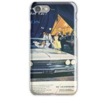 A vintage Oldsmobile advertising iPhone Case/Skin
