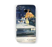 A vintage Oldsmobile advertising Samsung Galaxy Case/Skin