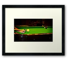 Tough Shot Framed Print
