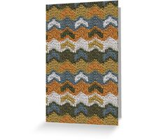Flying V's Knit Greeting Card