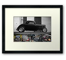 Phil Retford's 1933 Ford Coupe - Poster Framed Print