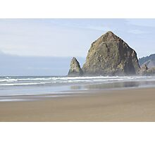 Haystack Rock Photographic Print
