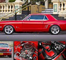 Keith Keily's 1966 Ford Mustang Coupe - Poster by HoskingInd
