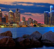 Glow of Detroit by Mark Bolen