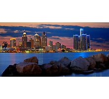 Glow of Detroit Photographic Print