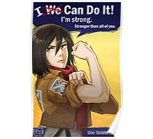 Mikasa: I Can Do It! Poster