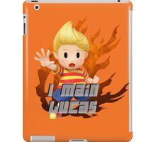 I MAIN LUCAS iPad Case/Skin