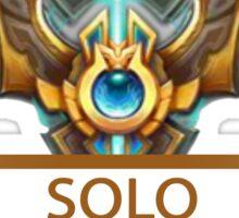 Solo Badge Sticker