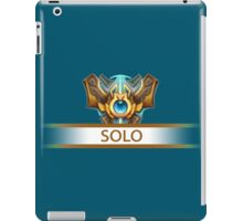 Solo Badge iPad Case/Skin