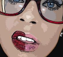 V-NASTY: WHITE GIRL MOB Sticker