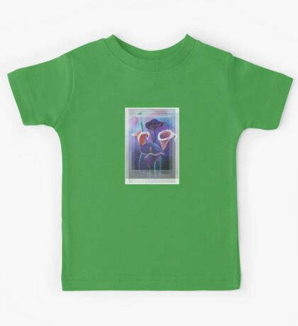 Birthday Wishes Greeting Card with Lilac Calla Lilies Kids Tee